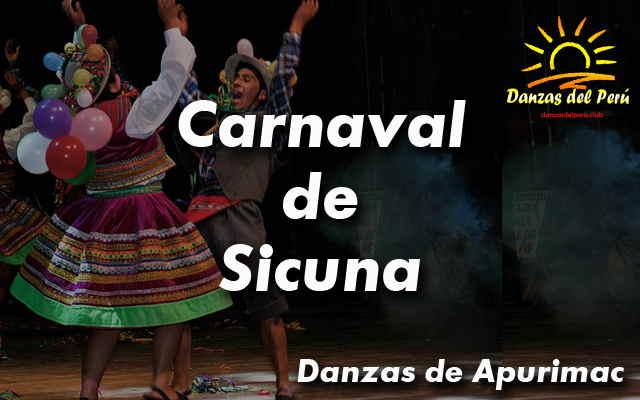 danza carnaval de sicuna apurimac
