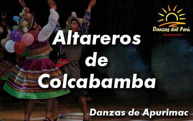 danza altareros de colcabamba apurimac