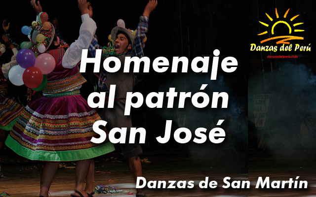 danza homenaje al patron san jose - san martin