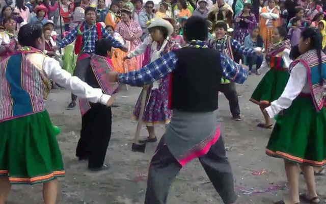 carnaval de andagua vestimenta
