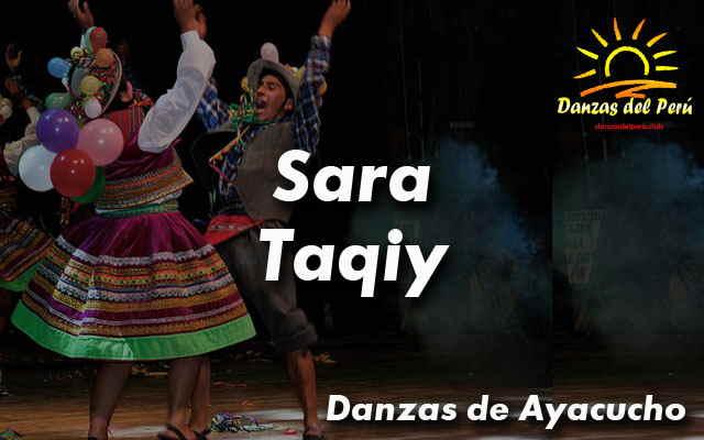 danza sara taqiy ayacucho