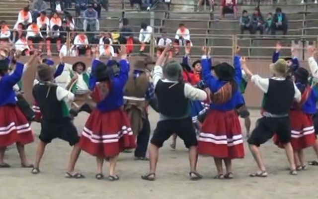 danzas agricolas colcabamba