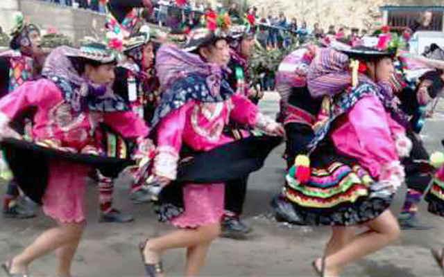 danzas huancavelicanas