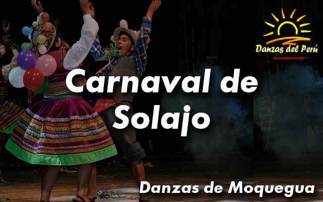 danza carnaval de solajo moquegua
