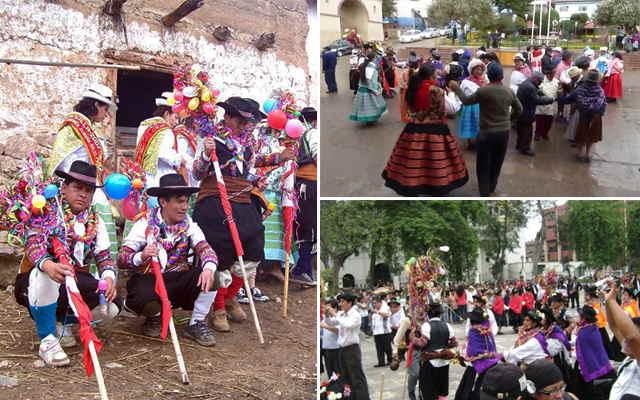 vestimenta de la danza chacramanay