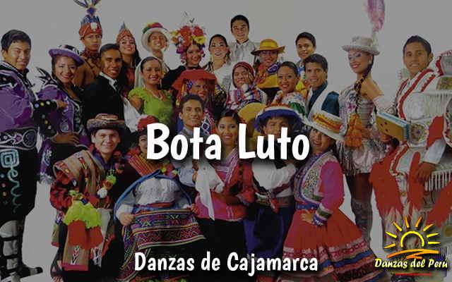 danza bota luto de cajamarca