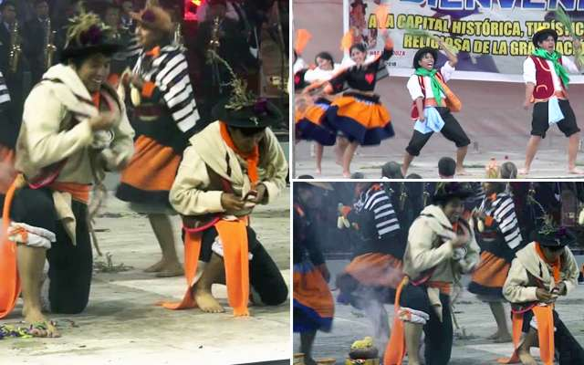 danza alcuy huaylarsh del canipaco junin