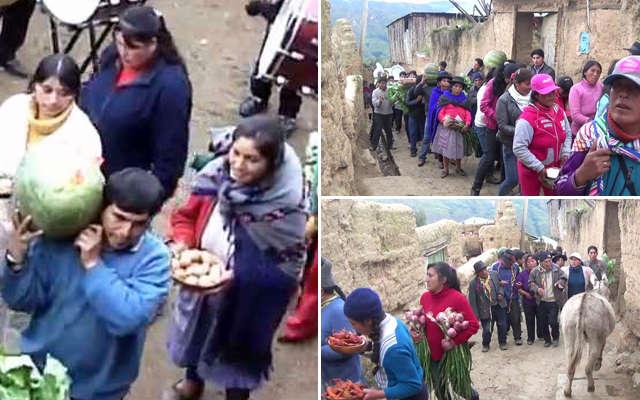 urpo apay en el pueblo de tapuc
